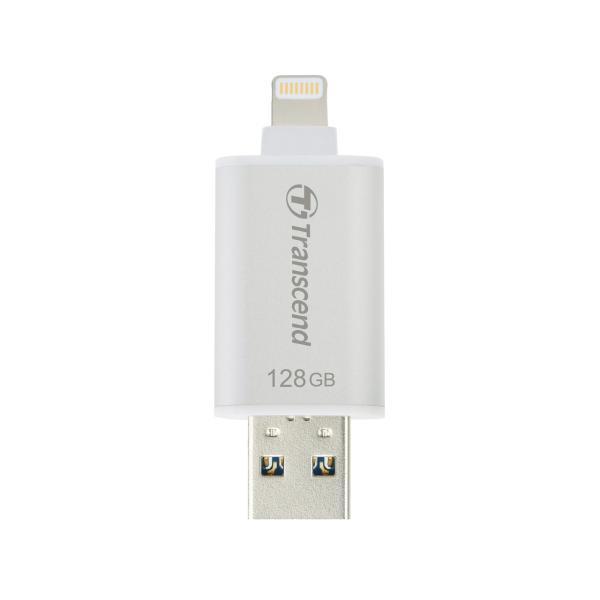 Transcend Lightning USBメモリ iPhone 128GB USB3.1対応 MFI認証 TS128GJDG300S|sanwadirect|05