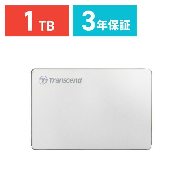 外付けHDD 1TB ハードディスク ポータブル トランセンド|sanwadirect