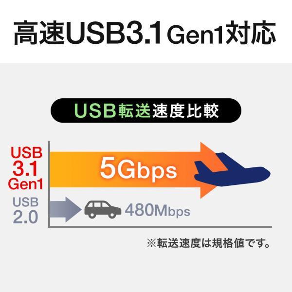 外付けHDD 1TB ハードディスク ポータブル トランセンド(即納)|sanwadirect|03