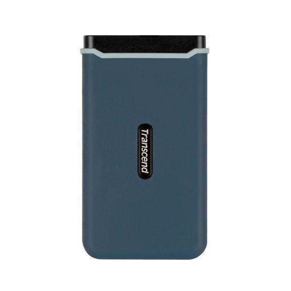 ポータブルSSD 240GB 外付けSSD Transcend トランセンド USB3.1 Gen2 耐衝撃(即納)|sanwadirect