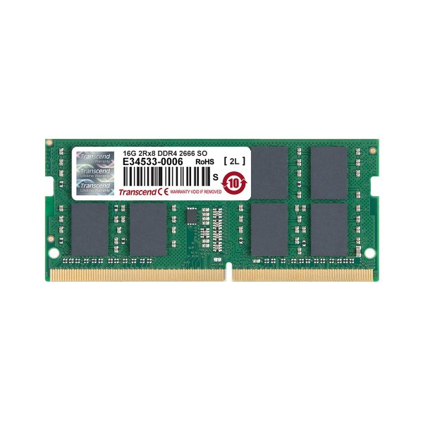 増設メモリ ノートPC用 16GB DDR4-2666 PC4-21300 SO-DIMM TS2GSH64V6B Transcend(即納) sanwadirect 02
