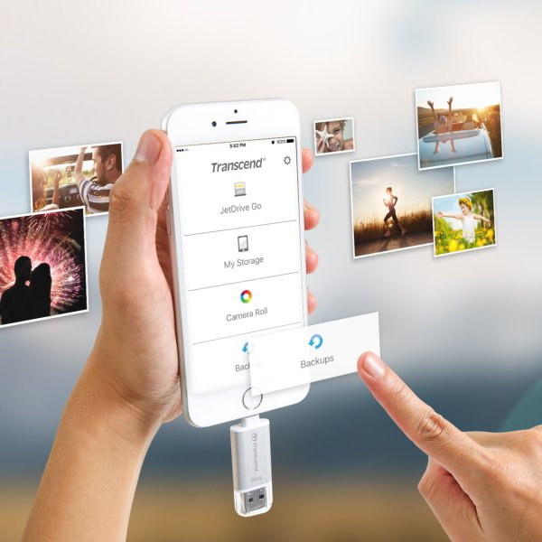 Lightning USBメモリ iPhone 32GB Transcend USB3.1対応 MFI認証 TS32GJDG300K 2年保証(即納)|sanwadirect|10