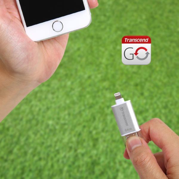 Transcend Lightning USBメモリ 32GB JetDrive Go 300 USB3.1対応 TS32GJDG300R(即納)|sanwadirect|12