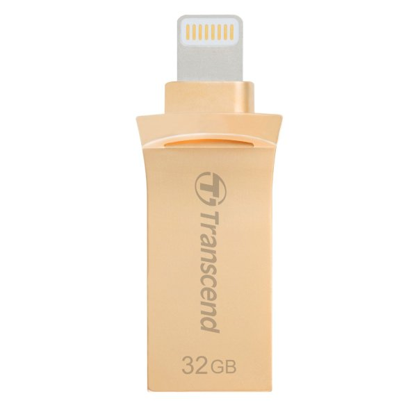 Transcend Lightning USBメモリ iPhone 32GB USB3.1対応 MFI認証 TS32GJDG500G|sanwadirect|01