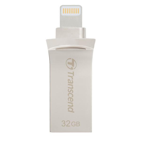 Transcend Lightning USBメモリ iPhone 32GB USB3.1対応 MFI認証 TS32GJDG500S 2年保証|sanwadirect|06