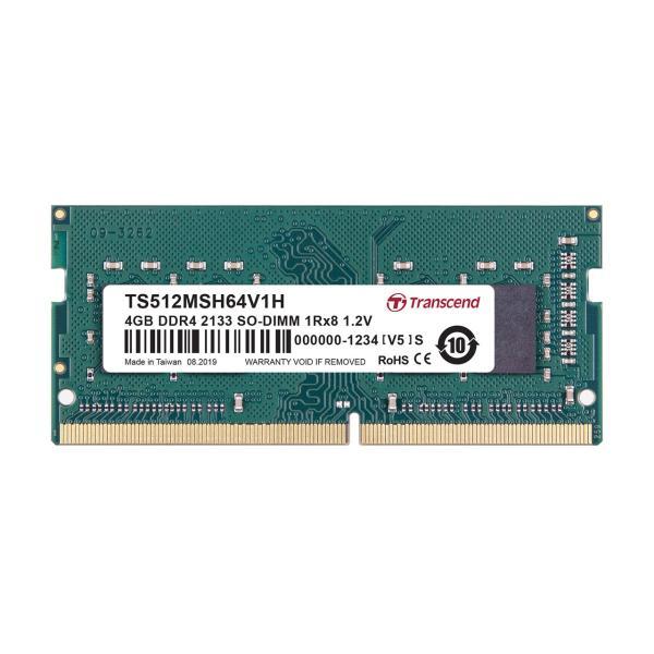増設メモリ ノートPC用 4GB DDR4-2133 PC4-17000 SO-DIMM TS512MSH64V1H Transcend(即納)|sanwadirect|02