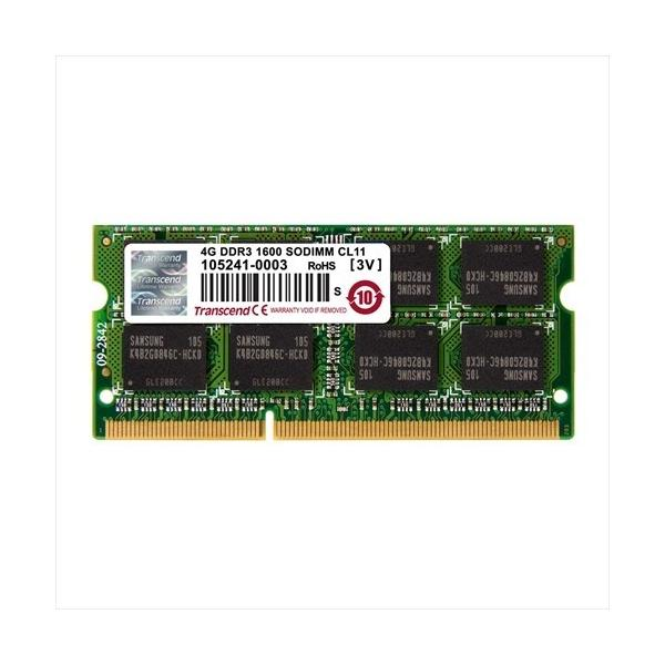 DDR3-1600 PC3-12800 Transcend ノートPC用増設メモリ 4GB SO-DIMM TS512MSK64V6N(即納)|sanwadirect|03