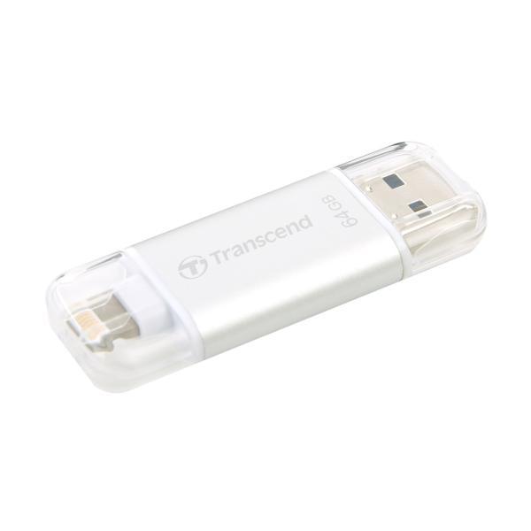 Lightning USBメモリ iPhone 64GB Transcend USB3.1対応 MFI認証 TS64GJDG300S 2年保証(即納)|sanwadirect|15