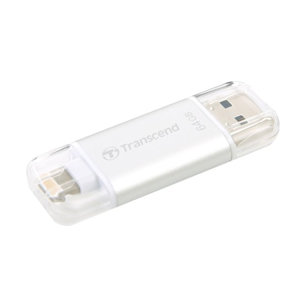 Lightning USBメモリ iPhone 64GB Transcend USB3.1対応 MFI認証 TS64GJDG300S 2年保証(即納)|sanwadirect|07