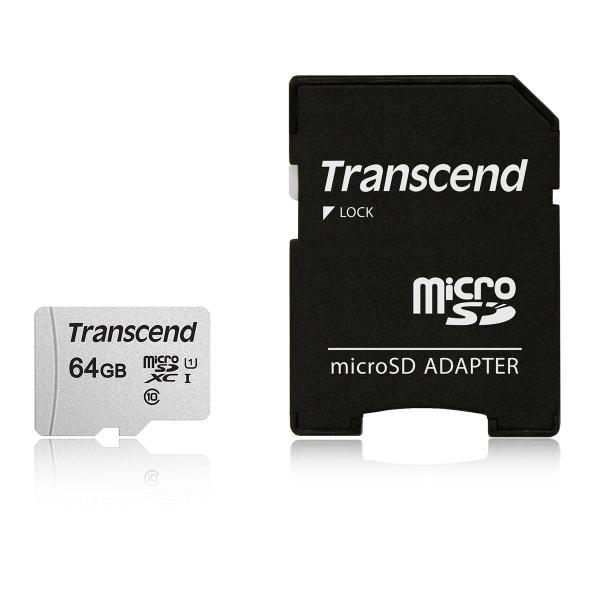 microSDXCカード 64GB マイクロSD  Class10 UHS-I  SD変換アダプタ付き TS64GUSD300S-A(即納)|sanwadirect|05