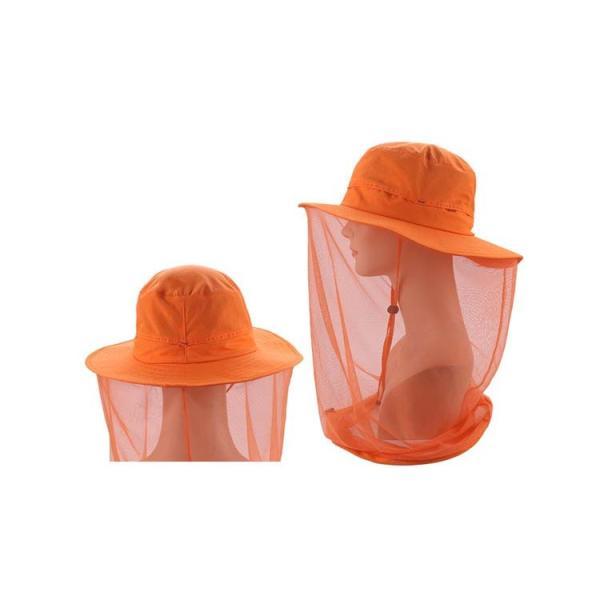 帽子  夏  UVカットハット  釣り アウトドア  登山  虫除けネット付き帽子   UVカット 紫外線対策 紫外線カット サマー