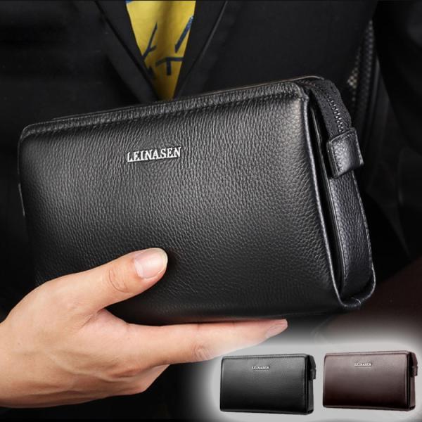 a72c95a8844e セカンドバッグ メンズ 本革 財布 クラッチバッグ メンズ バッグ 鞄 長財布 さいふ レザー 多 ...