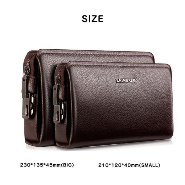 a256df19c658 ... セカンドバッグ メンズ 本革 財布 クラッチバッグ メンズ バッグ 鞄 長財布 さいふ レザー 多 ...