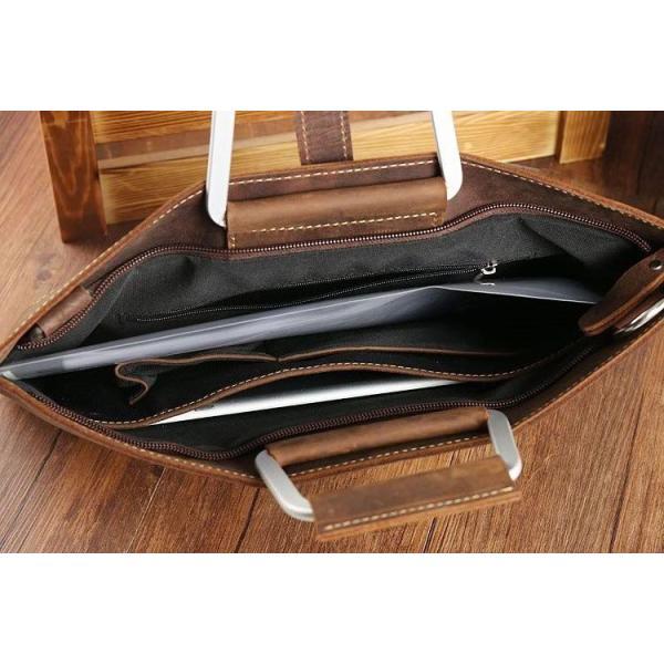 ハンドバッグ トートバッグ メンズ 本革 2way 手提げバッグ ショルダーバッグ  レザー   手提げ 斜めがけ ビジネスバッグ 通勤通学  鞄 sanwafashion 06