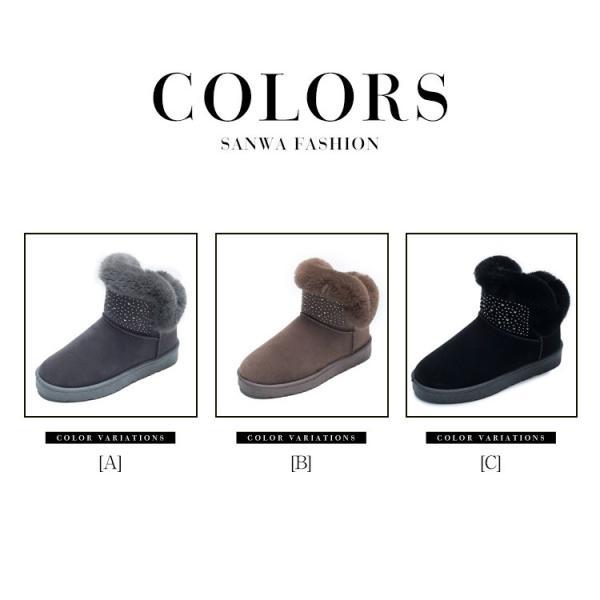 ムートンブーツ ショートブーツ レディース 冬靴  防滑    裏起毛  シンプル  合わせやすい   防寒 保温    耐磨耗  ふわふわ オシャレ 軽量 美脚 暖かい