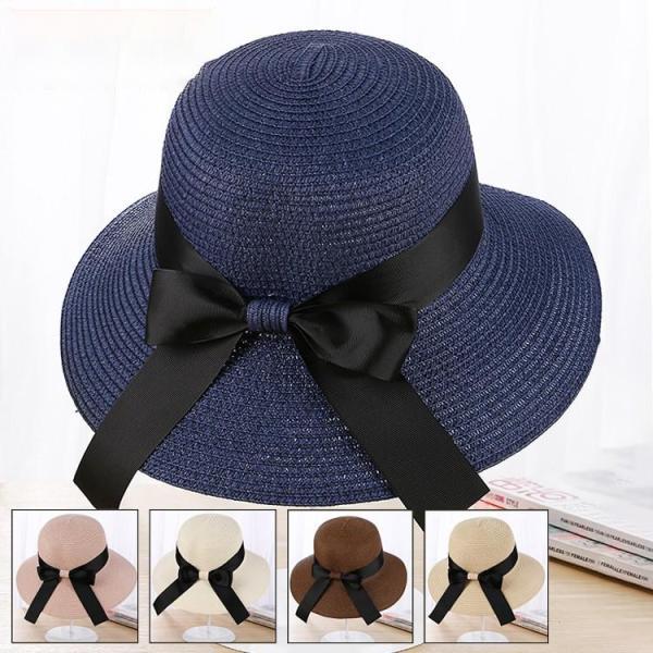 帽子 レディース 春夏 レディースキャップ ハット アウトドア 通気性良い  リゾート ビーチ ワイドハット UV カット 日よけ シンプル 軽い|sanwafashion