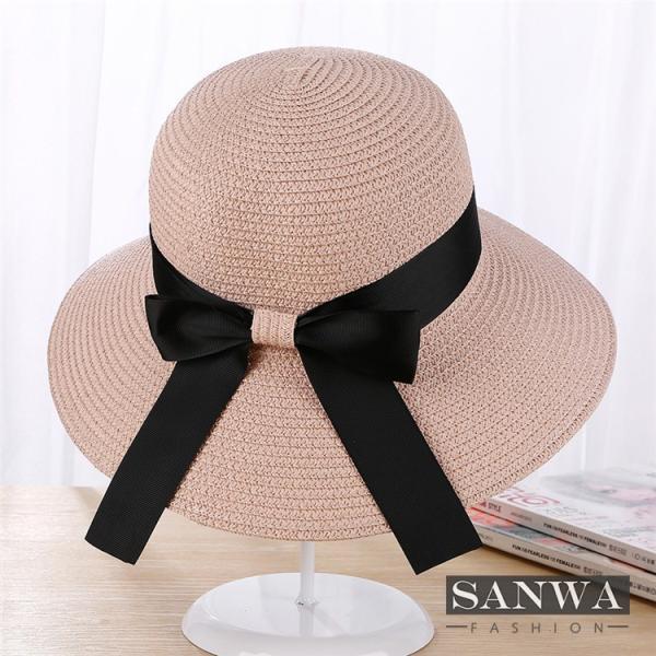 帽子 レディース 春夏 レディースキャップ ハット アウトドア 通気性良い  リゾート ビーチ ワイドハット UV カット 日よけ シンプル 軽い|sanwafashion|06