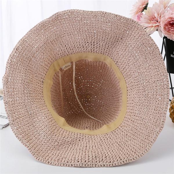 帽子 レディース 春夏 レディースキャップ ハット アウトドア 通気性良い  リゾート ビーチ ワイドハット UV カット 日よけ シンプル 軽い sanwafashion 05