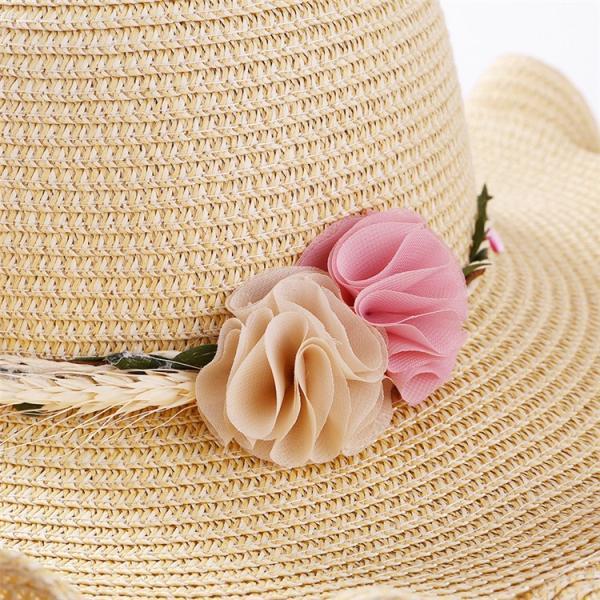 帽子 レディース 春夏 レディースキャップ ハット アウトドア 通気性良い  リゾート ビーチ ワイドハット UV カット 日よけ シンプル 軽い|sanwafashion|05