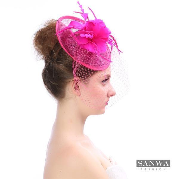 69db530c5ca7d ... 帽子 レディース カクテルハット トーク帽 礼装帽子 宴会 show ヘッドドレス お嫁さん ブライダル 結婚 ...