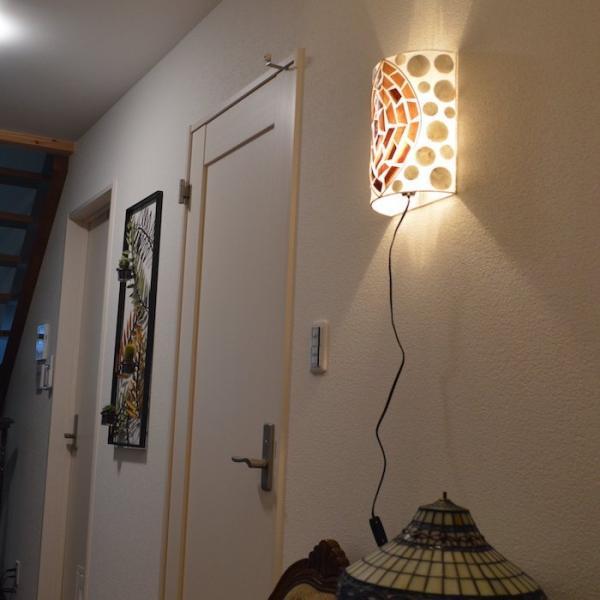 ブラケットライト セミサークル モチーフA ムードライト 寝室照明 間接照明 照明 リビング 玄関 アジアンテイスト 送料無料|sanwapotitto|02