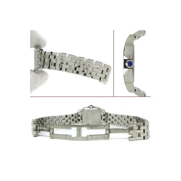カルティエ Cartier 時計 Qz レディースドレスウォッチ サントスドゥモアゼル W2506425 中古 グレード:A サンヤ質店