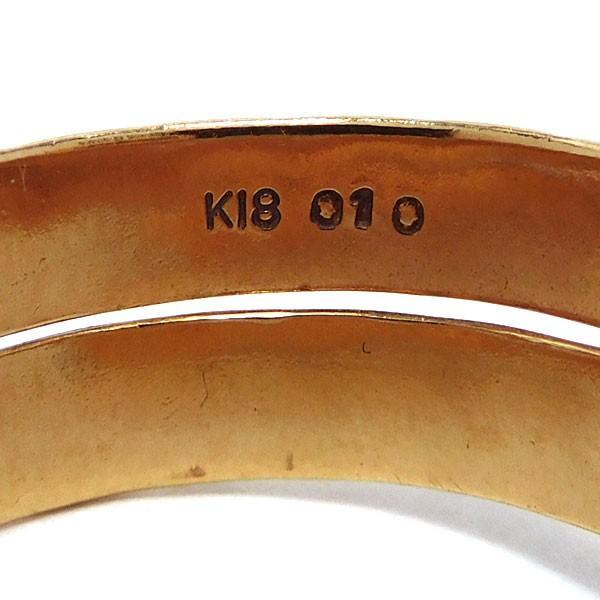 ノーブランド Non-brand リング ダイヤモンド K18 16号 中古 グレード:リサイクル サンヤ質店