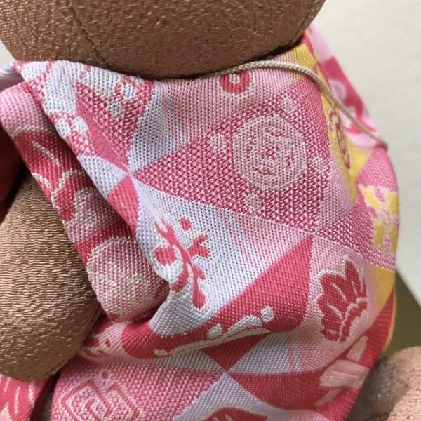 2018年  戌歳 龍村美術織物生地使用  干支マスコット人形  十二吉祥鱗文  平成30年 箱入り ギフト お正月 |sanyo-kimono|04