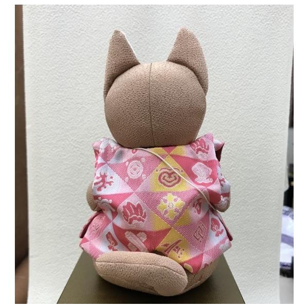 2018年  戌歳 龍村美術織物生地使用  干支マスコット人形  十二吉祥鱗文  平成30年 箱入り ギフト お正月 |sanyo-kimono|05