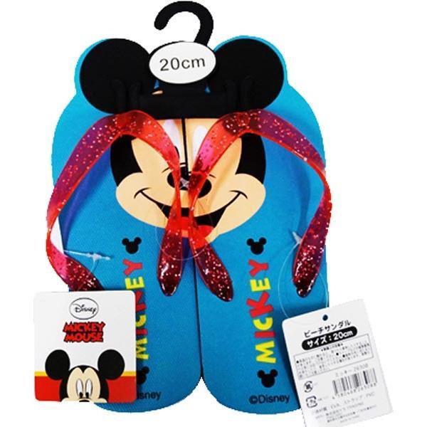 ディズニー ビーチサンダル 20cm ミッキーマウス