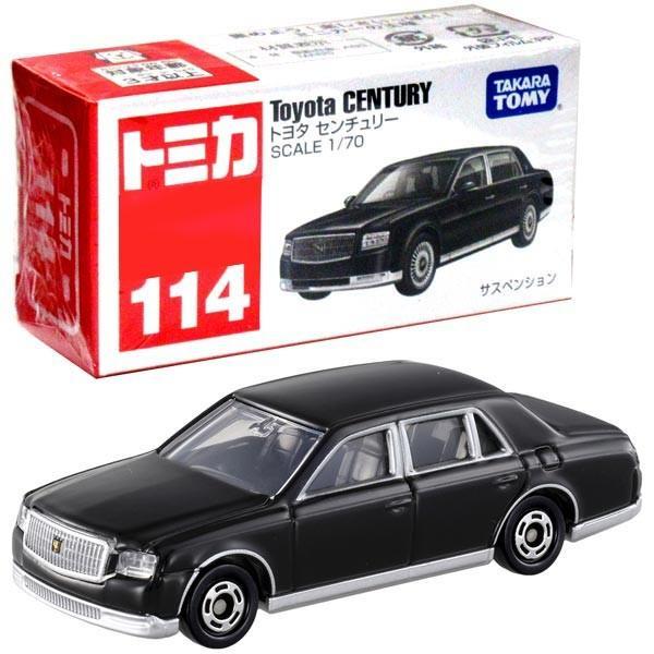 Box 114 Toyota Century TOMICA No
