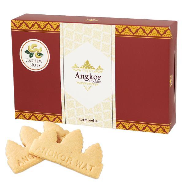 カンボジア土産 | アンコールワットクッキー(アンコールクッキー) 1箱 【105415】|sanyodo