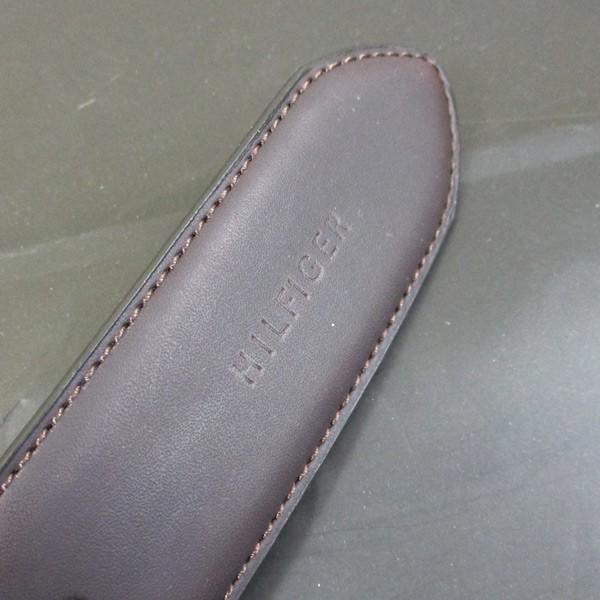 トミーヒルフィガー リバーシブル 牛革ベルト 08X017BR ブラウン/送料無料|saponintaiga|09