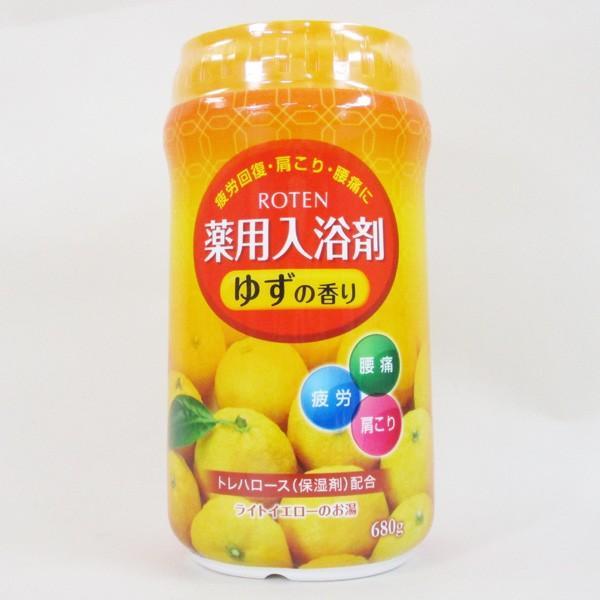 薬用入浴剤 日本製 露天/ROTEN ゆずの香り 680g x1個/送料無料|saponintaiga