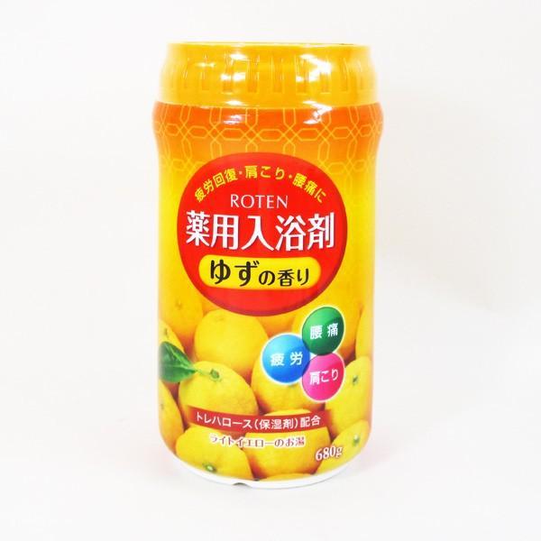 薬用入浴剤 日本製 露天/ROTEN ゆずの香り 680g x1個/送料無料|saponintaiga|08