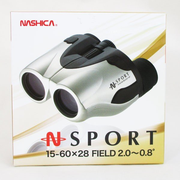 ズーム双眼鏡 N-SPORT 15-60×28 ZOOM(倍率:15〜60倍)三脚アダプター付き ナシカNASHICA 2025/送料無料|saponintaiga|03