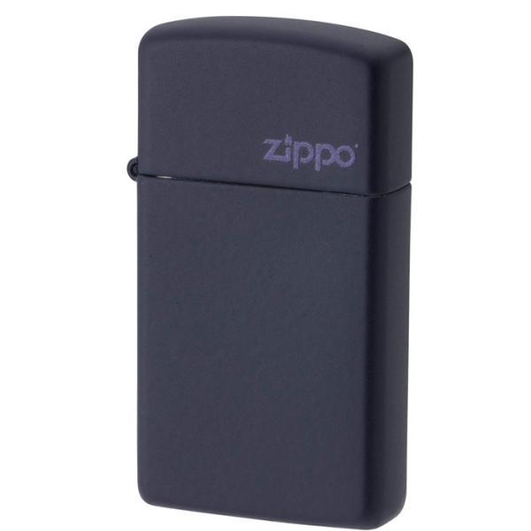 ジッポー ysd#1639ZL ネイビーマット スリムタイプ 5面マット仕上げ オイルライター/送料無料