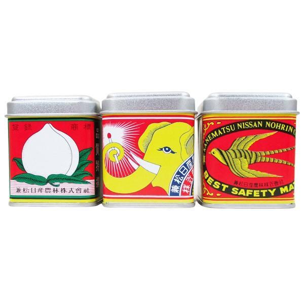 マッチ 日本製 デミタス缶マッチ ノスタルジア柄(約120本入)x9缶セット アソート/卸/送料無料|saponintaiga
