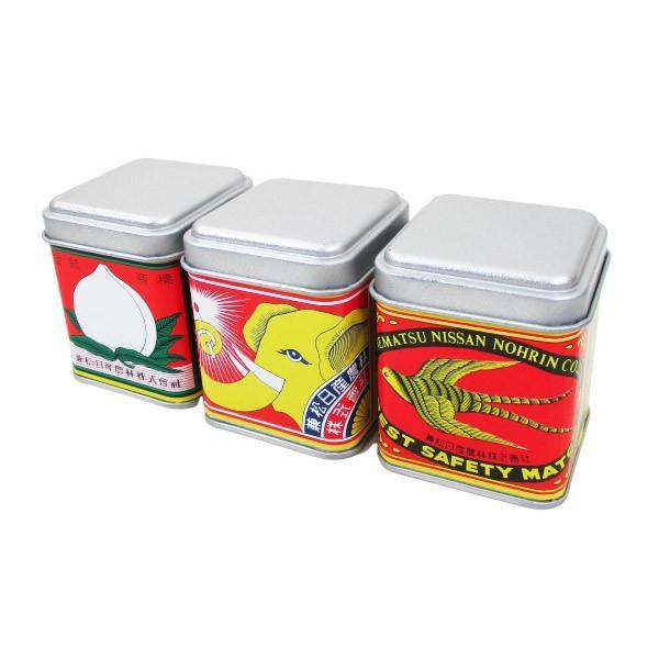 マッチ 日本製 デミタス缶マッチ ノスタルジア柄(約120本入)x9缶セット アソート/卸/送料無料|saponintaiga|02