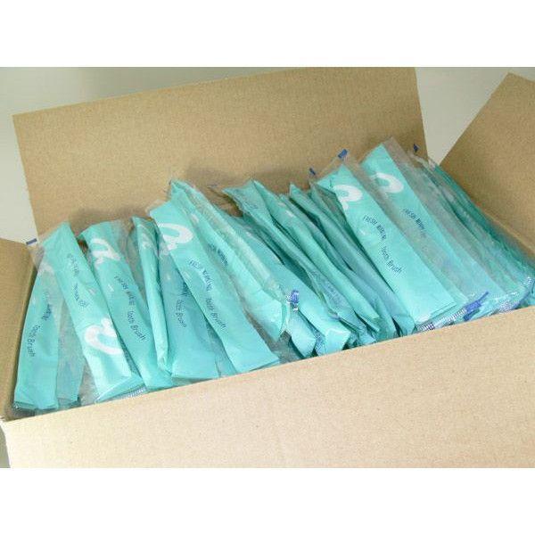 業務用 ハミガキ粉付着歯ブラシ 使い捨て 500本組/ホワイト/卸/|saponintaiga|02