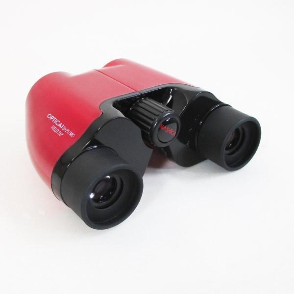 双眼鏡 8X21(倍率8倍) 8×21MCキャリングポーチ付き ナシカ NASHICA オプティカアイ 2070/送料無料|saponintaiga|05