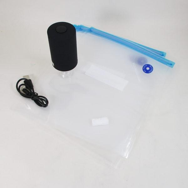 真空保存 バキューム 食品密封保存機 コンパクトフードバキューマー MEH-88/5075/送料無料 saponintaiga 06