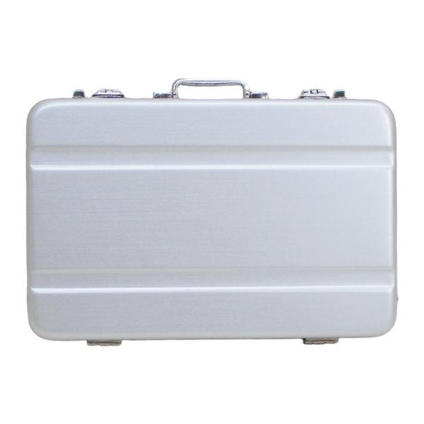 シガレットケース タバコケース カードケース アルミ製ミニトランク型 A1010001(B)シングルライン 日本製 ウインドミル