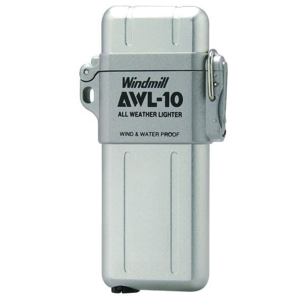 ウインドミル AWL-10 ターボライター 白ベロア
