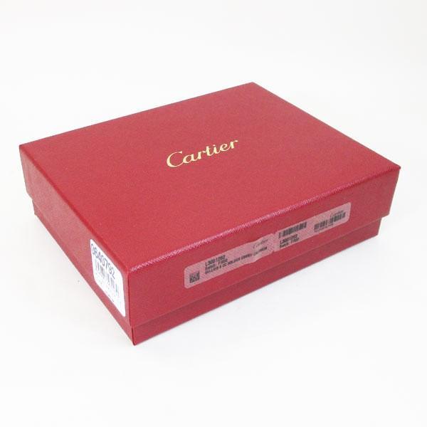 カルティエ 二つ折り財布 メンズ サドルステッチ L3001262 ダークブラウン 男性用 本革 カルチェ Cartier/送料無料|saponintaiga|12