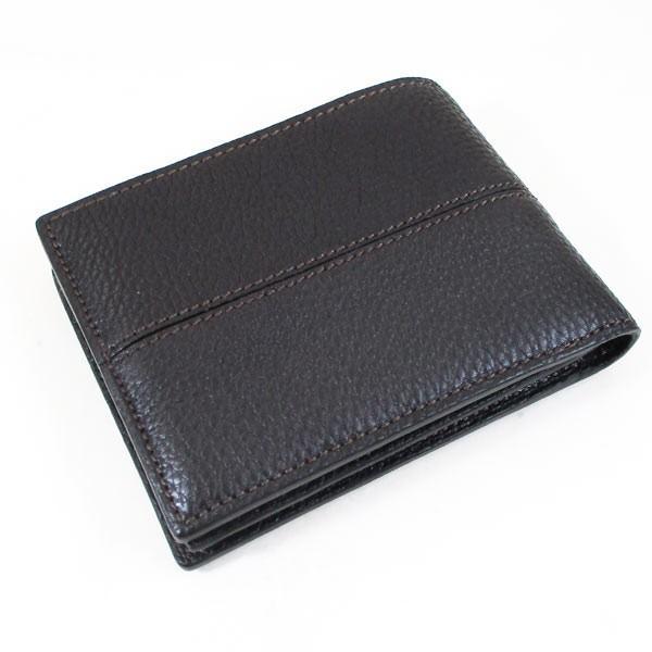 カルティエ 二つ折り財布 メンズ サドルステッチ L3001262 ダークブラウン 男性用 本革 カルチェ Cartier/送料無料|saponintaiga|03
