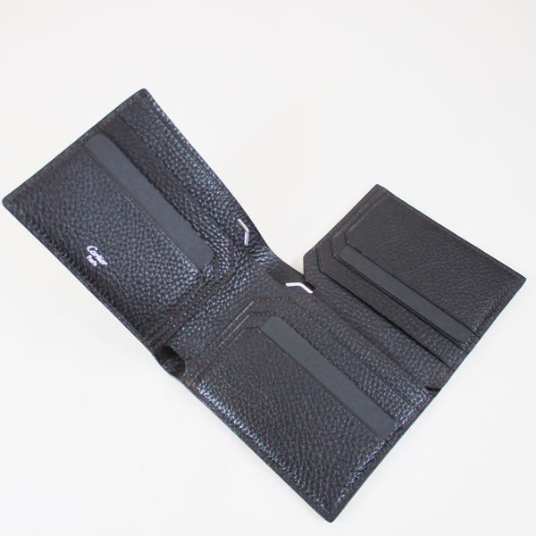 カルティエ 二つ折り財布 メンズ サドルステッチ L3001262 ダークブラウン 男性用 本革 カルチェ Cartier/送料無料|saponintaiga|06