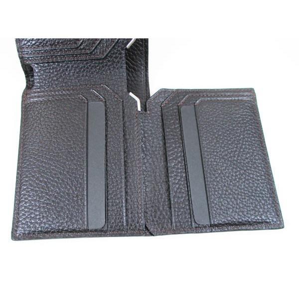 カルティエ 二つ折り財布 メンズ サドルステッチ L3001262 ダークブラウン 男性用 本革 カルチェ Cartier/送料無料|saponintaiga|08