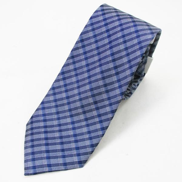 ネクタイ カルバンクライン Calvin Klein シルク系 ネクタイ K7993302400ブルー系/送料無料メール便 ポイント消化|saponintaiga|02