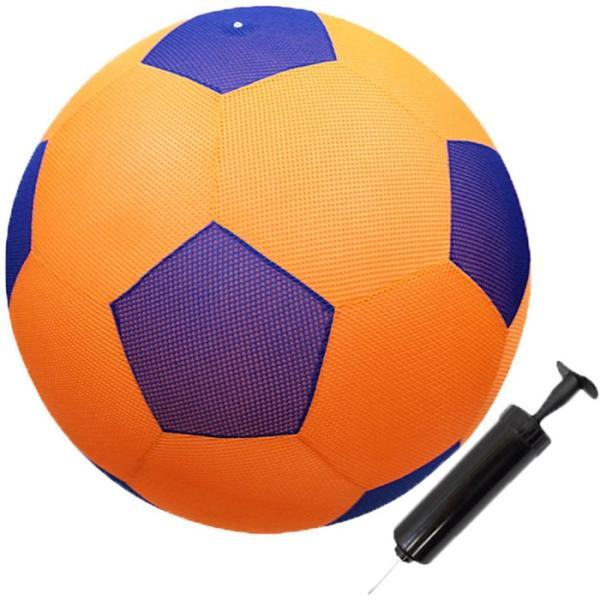カラフル/メッシュボール 50 ハンドポンプ付き 大きくてやわらか/x3球/卸/|saponintaiga